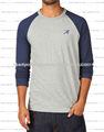 puro algodón impreso camiseta personalizada para los hombres