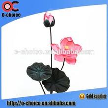 venta caliente wholeasale artificial flor de loto flores falsas