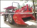 4qz-8 auto- propulsado forraje paja para cosechadora de maíz