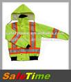 impermeable reflectante de seguridad chaqueta de la policía
