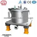 Modelo pptd- 10 industrial vertical centrífuga cesta
