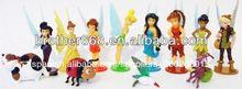 Oem de fábrica de juguetes de dibujos animados/3d de plástico pvc figuras/de vinilo figuras de pvc