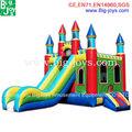 Hermoso castillo inflable del pvc para la venta, barato castillo inflable