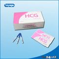 Más del 99% de alta precisión de la prueba agradable hcg precio