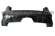 De fibra de carbono kits del cuerpo/auto partes/replcement parachoques trasero para pors/che lumma cayenne