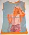 Camiseta de la moda de alta calidad de encargo 3d impreso para las mujeres
