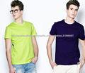 Mens venta por mayor camisetas de cuello redondo, camisetas de manga corta, blanco t camisas a granel en china
