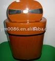 Basura container12L (grano de madera) del metal de la certificación del CE de los NUEVOS PRODUCTOS