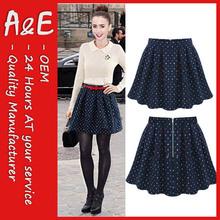 ae 2014 de moda de la moda falda corta
