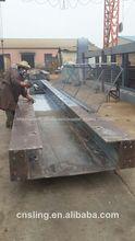 gancho horizontal de la tensión de prueba de la cama 300 tonelada