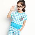 2014 Loveslf las últimas niños del verano del diseño de prendas de vestir fabricante / Cartoon