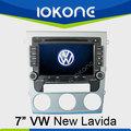 7 pulgadas de pantalla táctil de coches Radio GPS para VW Lavida