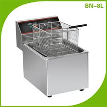 Contador eléctrico superior bn-8l freidora eléctrica profunda freidora eléctrica papasfritas/pollo/freidora de carne