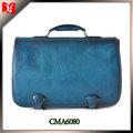 de marca de cuero nueva cosecha maletines para hombre baratos para hombre de mano de cuero maletín a la venta