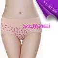 Comercio al por mayor agradable algodón estampado ropa interior chino para damas