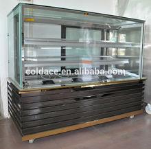 Refrigerados pastel/dount refrigerador pantalla ce