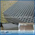 Plataformas de rejilla de acero galvanizado en caliente / rejilla de barr