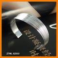 Nueva Silver Plating Polilínea Bangle Set ZTML SZ033