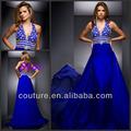 Eol2636 Real azul vestido de fiesta 2014 nueva llegada