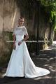 G5409L EXACTAMENTE IGUAL QUE LA FOTO A-line del satén del vestido de boda