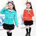 2014 loveslf nuevo estilo de otoño de ropa de los niños/de moda ropa del bebé