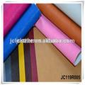 en relieve de cuero sintético pu con forro tejido para las bolsas