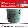 china piezas del carro del howo forros de freno az9761340104
