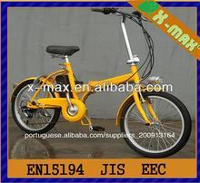 Baratos x-eb46 20'' 250w alumínio folding bicicleta elétrica kit motor do cubo
