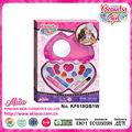 Las niñas de la belleza espejo seguro del corazón- en forma de intelectual kit de cosméticos juegos para los niños