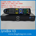 alta calidad dvb s2 jynxbox hd ultra v3 con receptor de satélite wifi gratuito para América del Norte