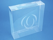 caja clara del acetato, Cajas de empaquetado plásticas claras del licor/del vino hechas de PP/PET/PVC
