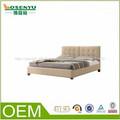 madera maciza cama doble de madera