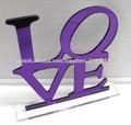 Pastel de boda Topper-LOVE