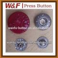 La pintura de metal botón a presión con cuatro piezas, michael- kors bolsos