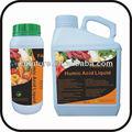Fertilizante líquido ácido húmico