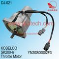 del acelerador del motor, KOBELCO SK200-6/SK75-8 excavadora, YN20S00002F3