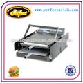 Eléctrico tostadora de pan/hamburguesa automática de la máquina de la parrilla