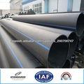 HDPE tubería de suministro de agua