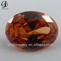 forma ovalada tipo de piedras preciosas de color de vidrio