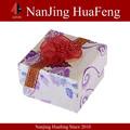 hermosa costumbre de papel hecho a mano joyería cajas para los regalos