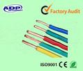 conductor de cobre pvc funda de cable eléctrico