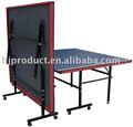 Alta calidad mesa de ping pong para la venta, baratos mesa de tenis de mesa, plegable mesa de tt