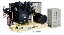Pet-0.6/60 tres etapas del compresor de aire