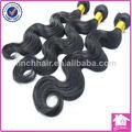 sunburst pour les cheveux traitement 16 pouces 3 paquets naturel noir ondule