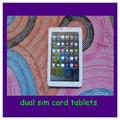 7 polegadas dual core dual sim câmera cartão 3g jogo do telefone android tablet