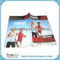 De manera personalizada folleto/catálogo de fábrica de la impresión