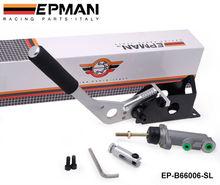 El rendimiento hidráulico de carreras de rally a la deriva del freno de mano e- romper la palanca de agarre ep-b66006-sl plata
