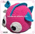 H630 el pez payaso manual de lana sombrero lindo bebé mano- punto de gorros