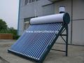 uso del tubo de vacío calentador de agua solar doméstica