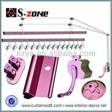 balcón de techo montado en el secado de la ropa de lavandería rack ideas sala de ropa plegable secador rackes